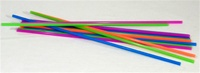 "18"" EXTRA LONG NEON STRAWS -CASE 3000/WHOLESALE"
