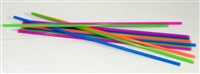"18"" EXTRA LONG NEON STRAWS -PKG 500/WHOLESALE"