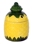 2-PIECE LIDDED PINEAPPLE MUG - CASE OF 36